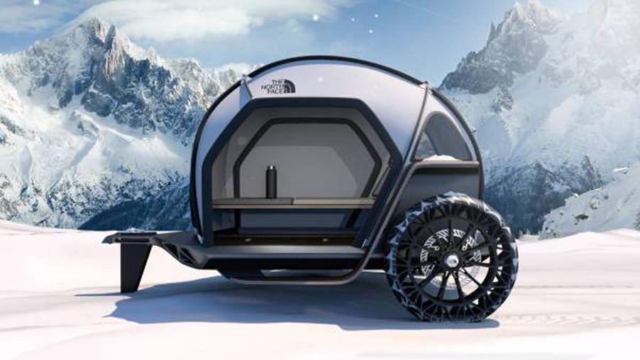 BMW DesignWorks NorthFace camper CES 2019