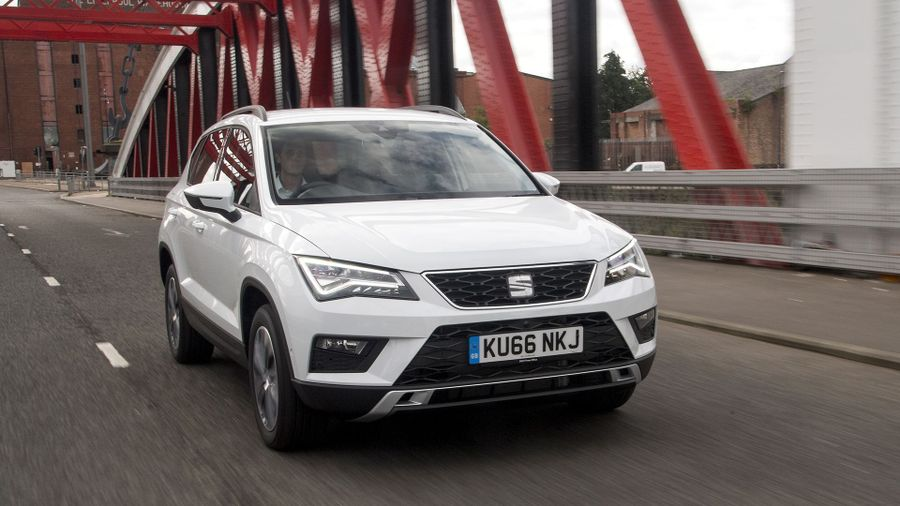 2017 Seat Ateca bridge