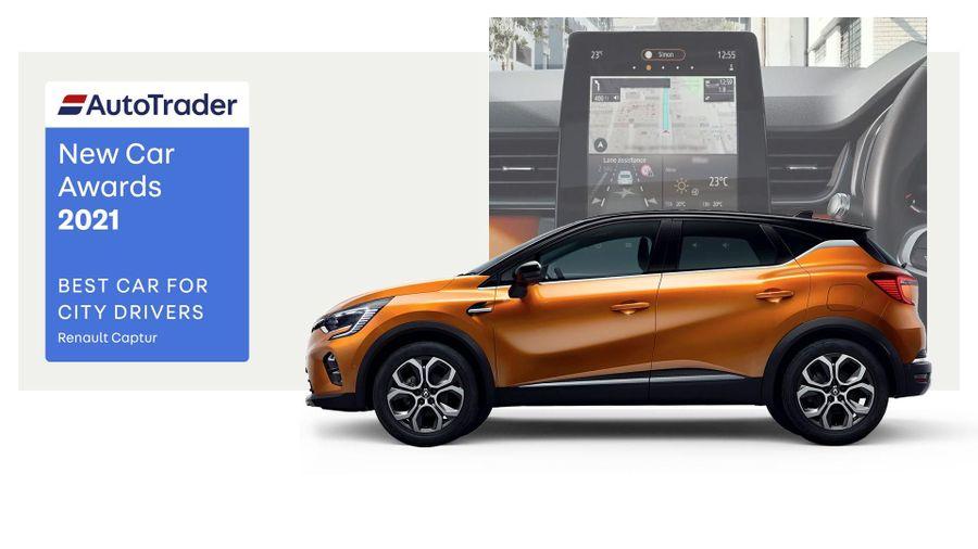 Best Car for City Drivers Award 2021 – Renault Captur