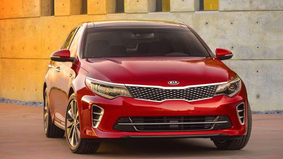 2016 Kia Optima front static