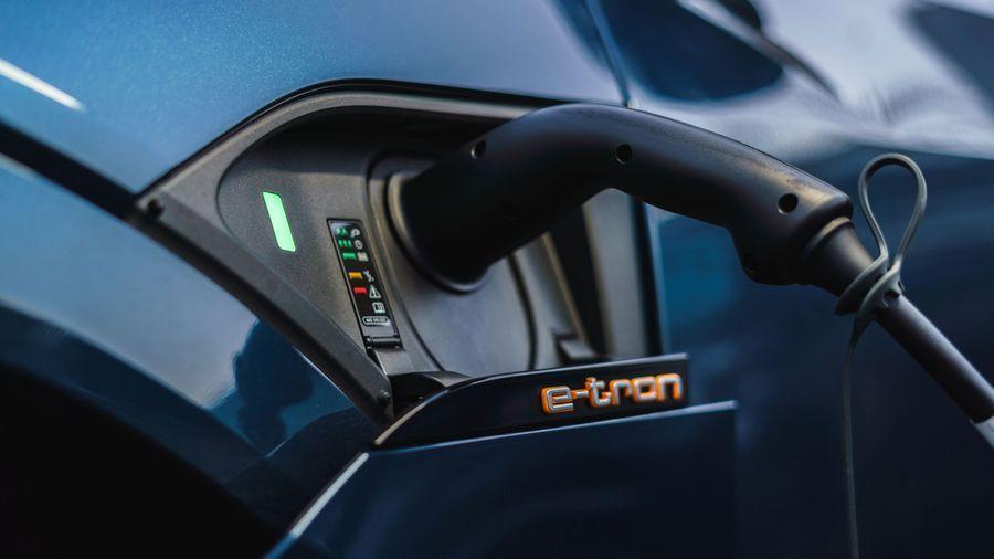 Audi E Tron charging