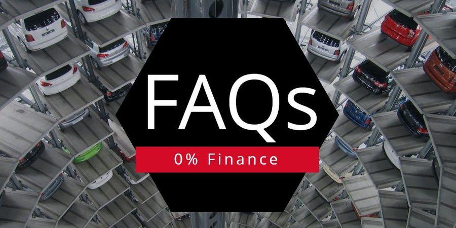 FAQs 0% Finance