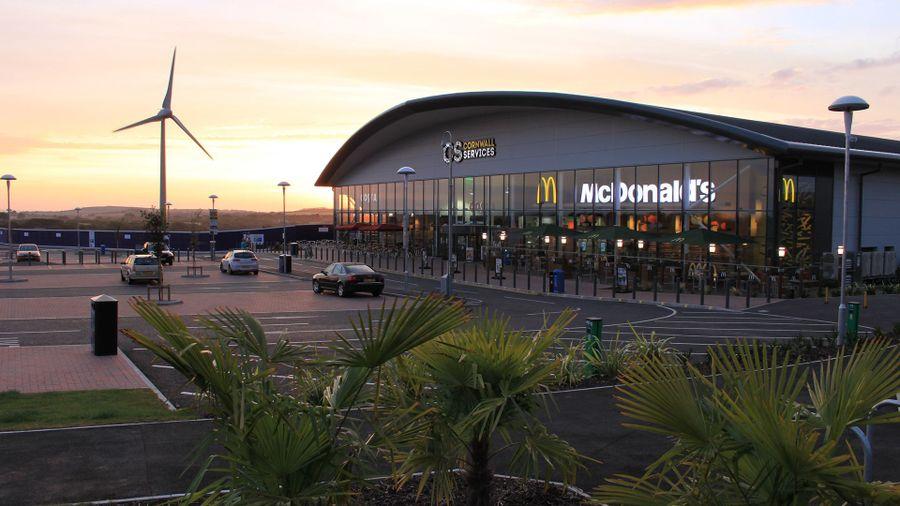 Britain's best motorway services: Cornwall Service Station