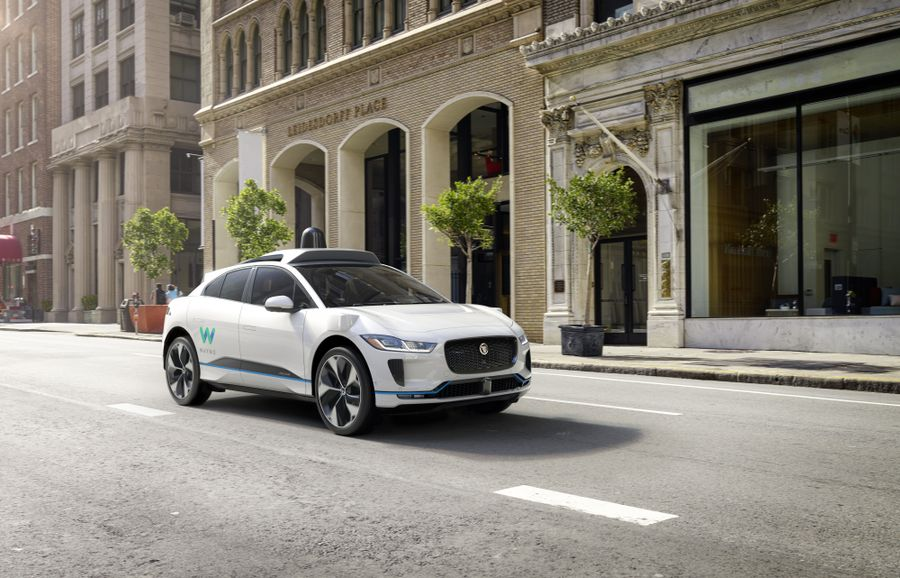 Waymo Jaguar Land Rover iPace