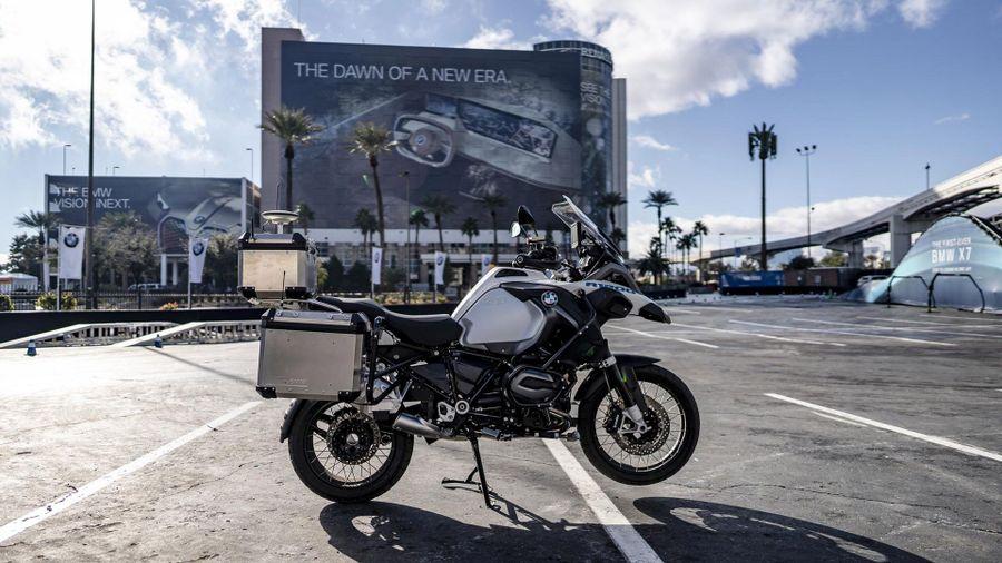 BMW R 1200 GS autonomous motorbike CES 2019