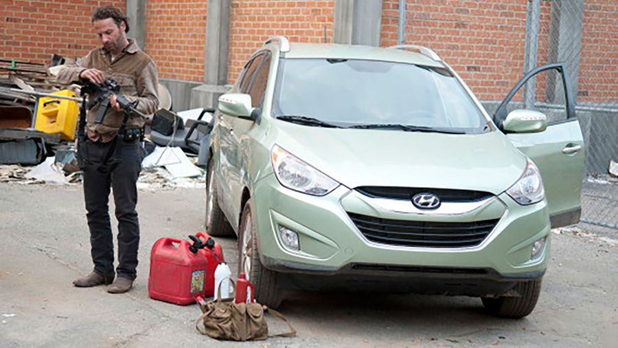 Hyundai Tucson - The Walking Dead