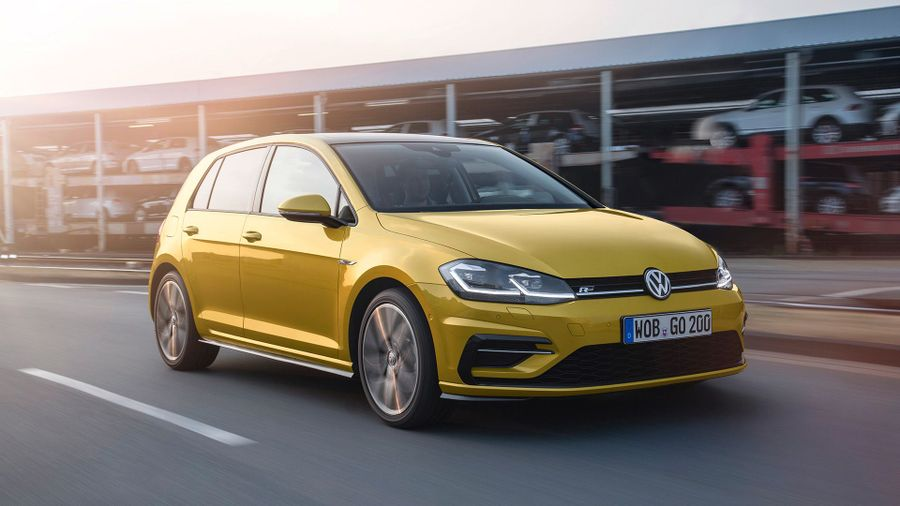 2017 facelifted Volkswagen Golf