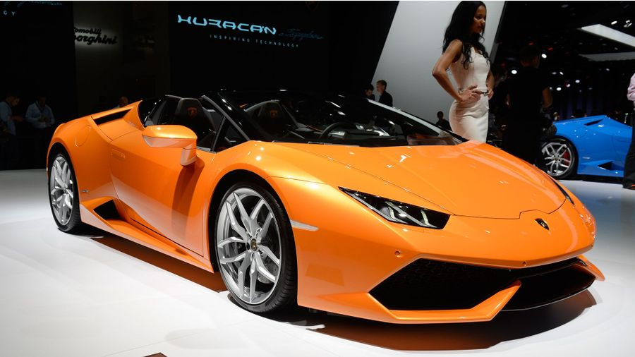 2015 Frankfurt Motor Show Lamborghini Huracan Spyder