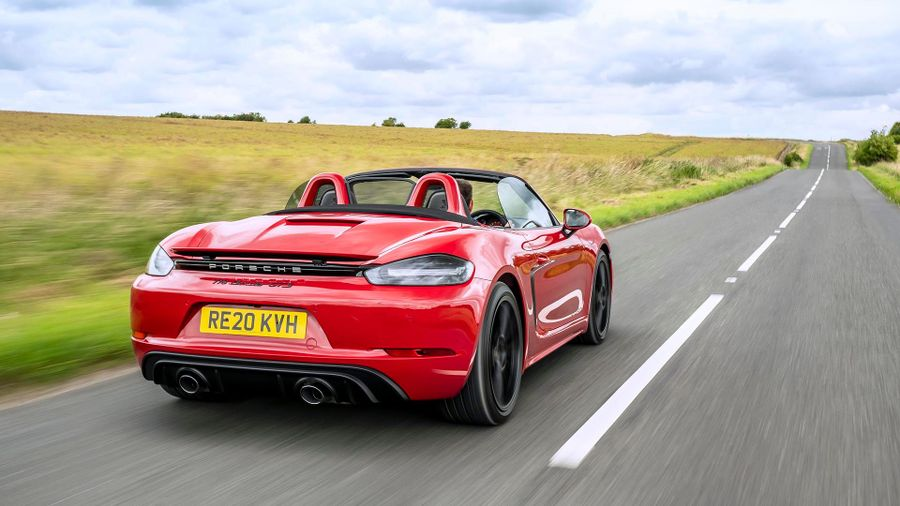 Best Fun Cars 2021 - Porsche 718 Boxster