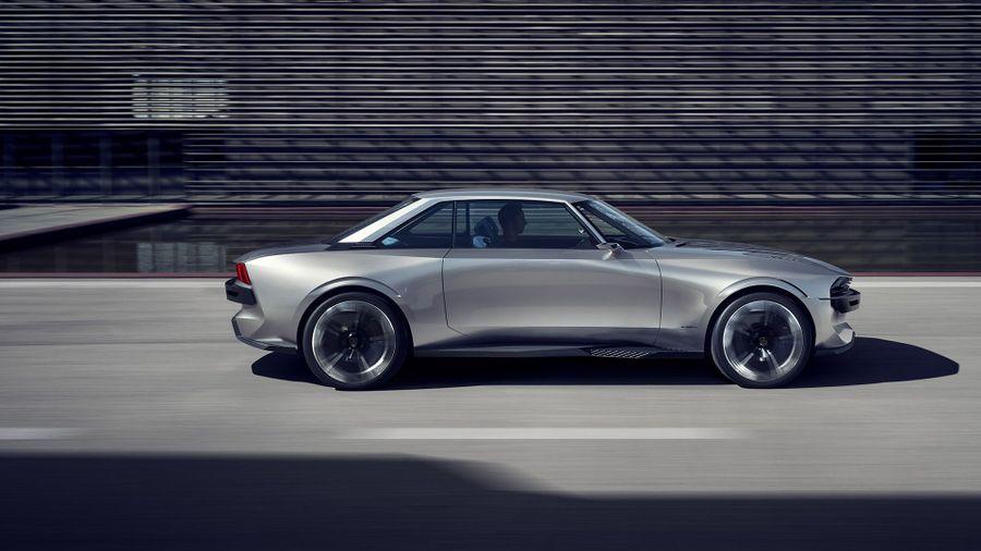 Peugeot Brings Electric Autonomous E Legend Concept Car To Paris
