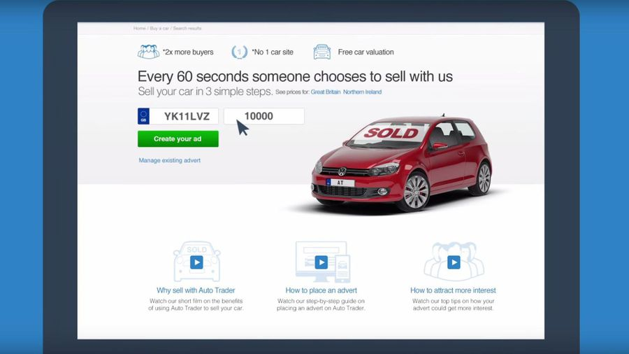 how to place an advert with auto trader auto trader uk. Black Bedroom Furniture Sets. Home Design Ideas
