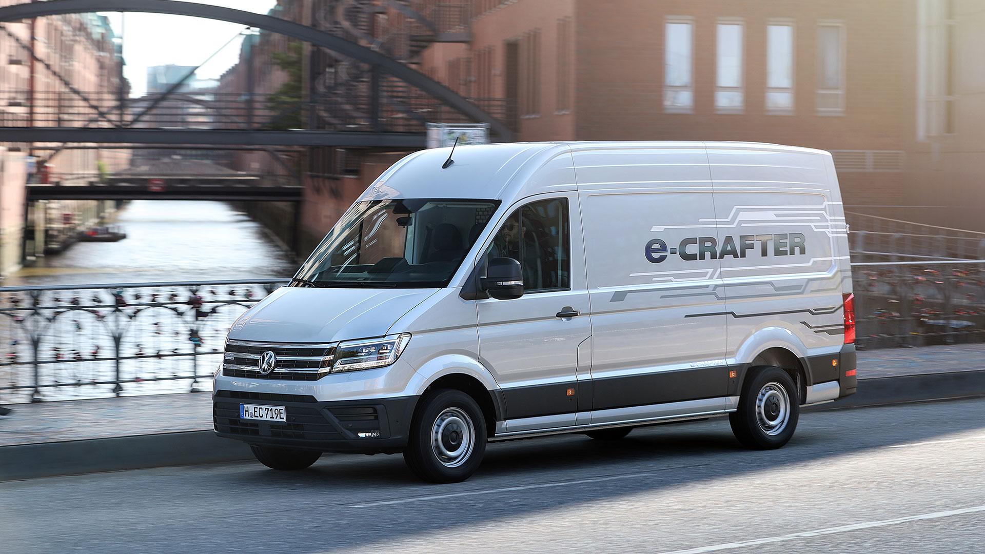 Used Volkswagen Crafter Vans For Sale Autotrader Vans
