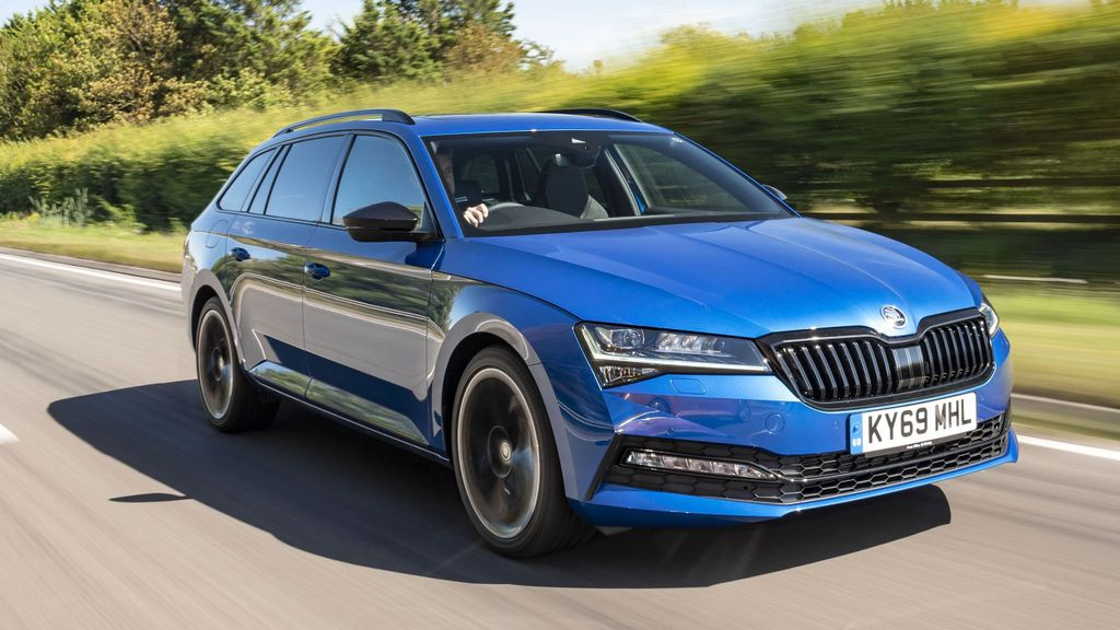 Diesel Skoda Superb Estate Laurin Klement Used Cars For Sale On