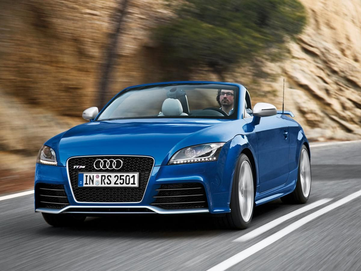 Audi TT RS Roadster convertible