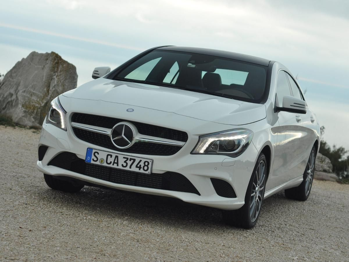Mercedes CLA saloon