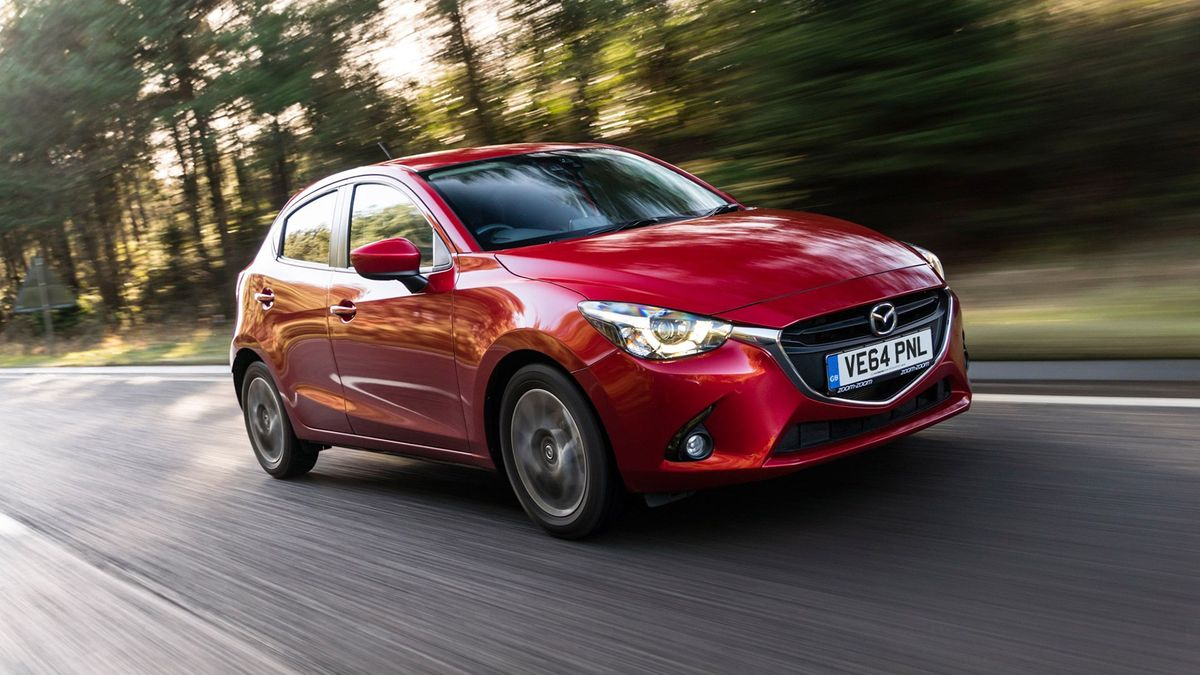 2015 Mazda 2 1.5 Sport Nav front action