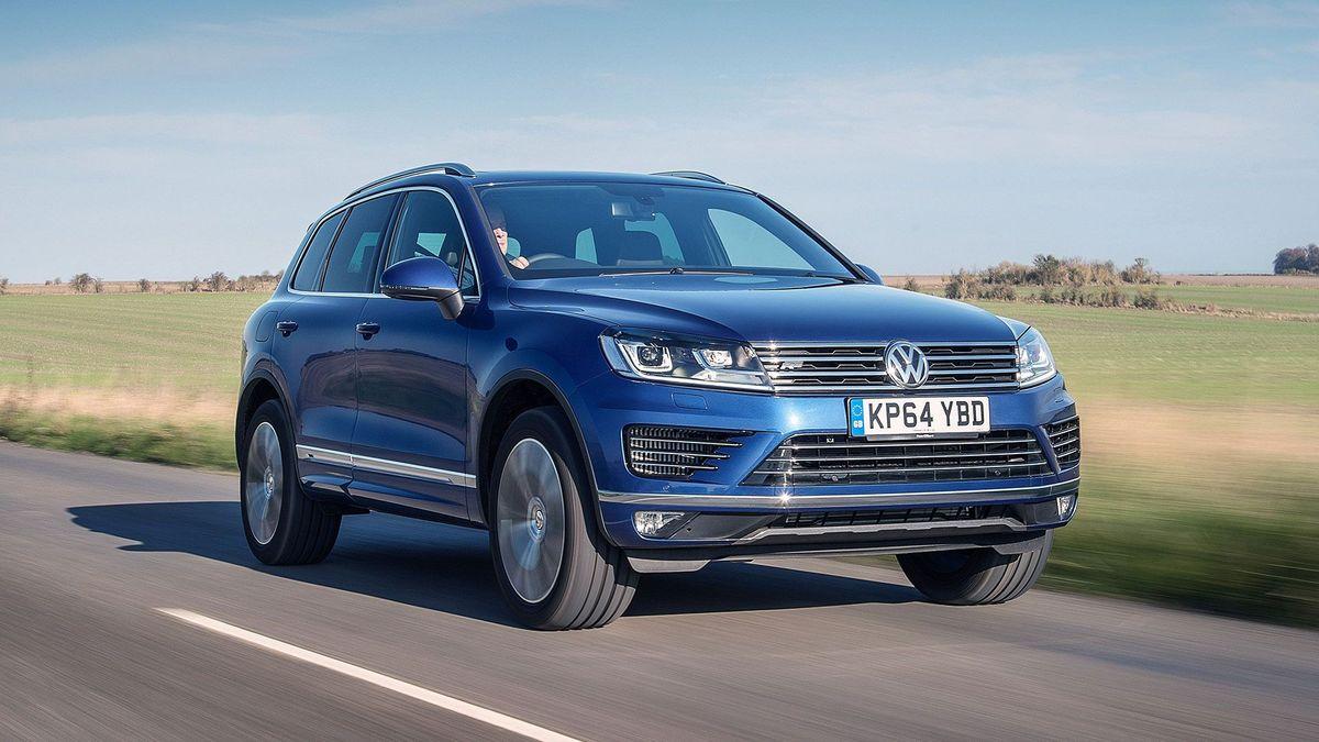 Volkswagen Touareg ride comfort