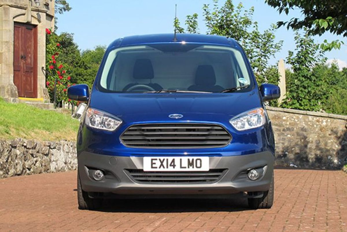 Ford Transit Courier Panel Van 2014 Mk5 Review Auto Trader Uk
