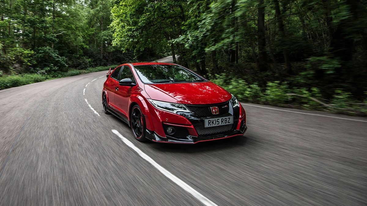 2015 Honda Civic Type R ride