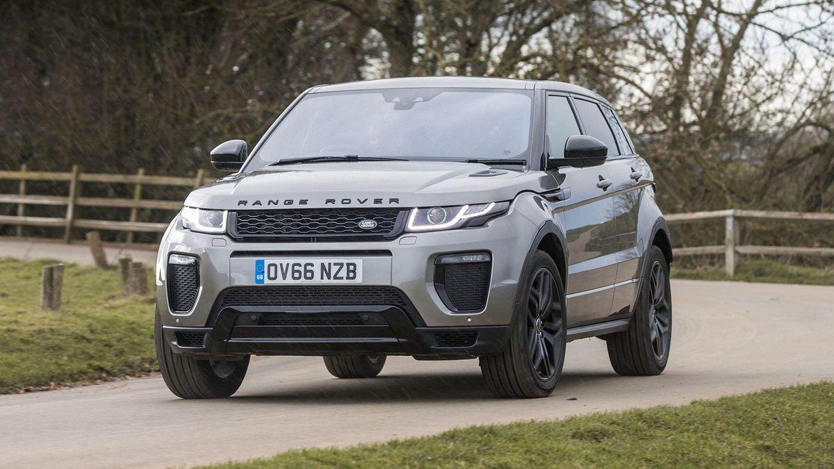 Range Rover Evoque handling
