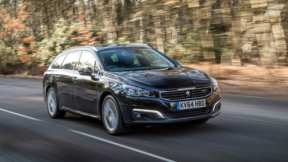 2014 Peugeot 508 SW tracking