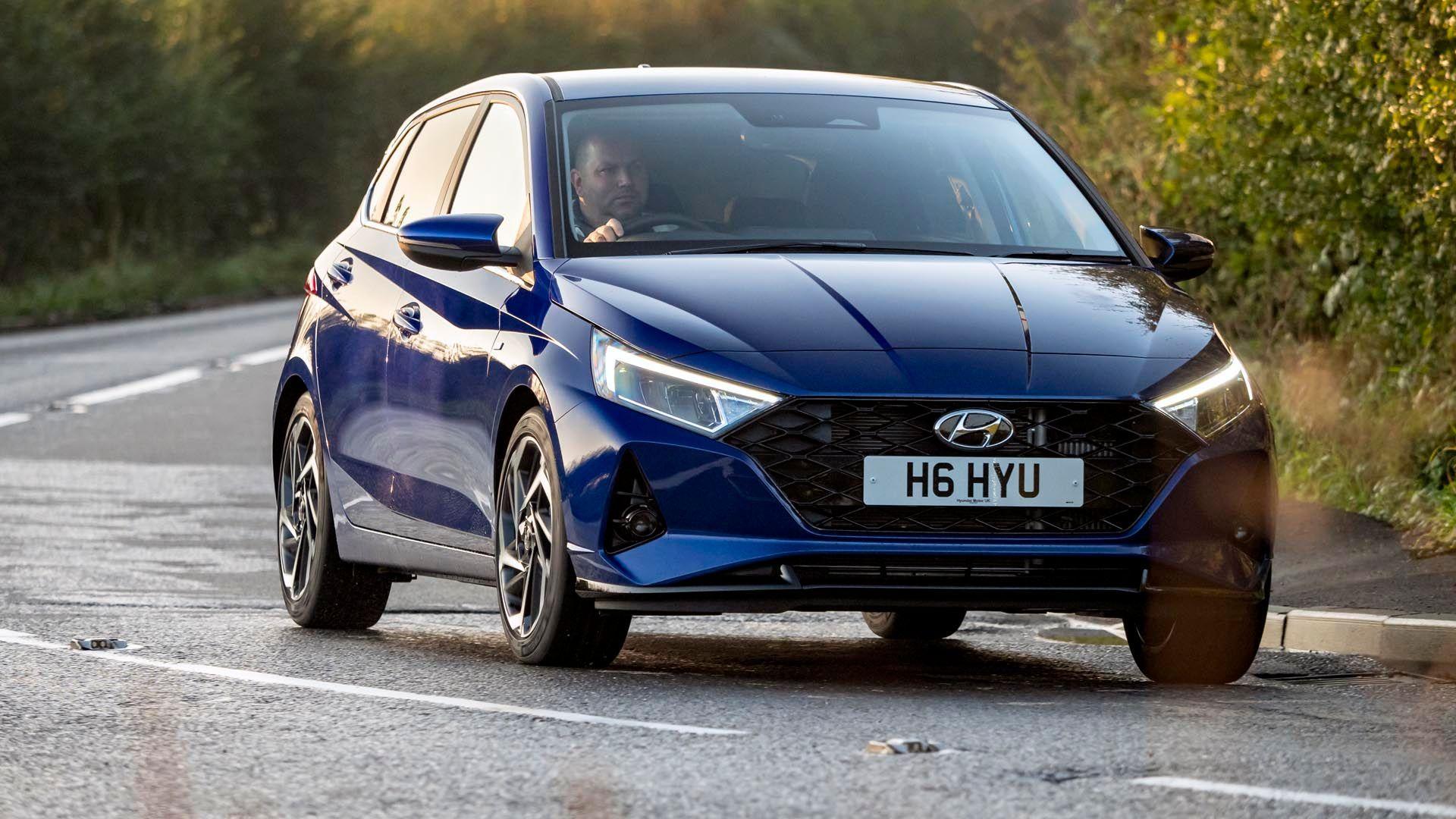 Hyundai i20 Blue image