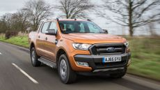 2016 Ford Ranger ride