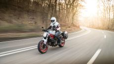 Ducati Monster 821 naked expert review, Jon Quirk
