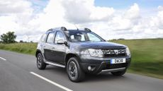 Dacia Duster ride