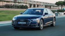 2018 Audi A8 ride