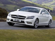 Mercedes CLS saloon