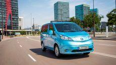 2015 Nissan e-NV200 MPV driving
