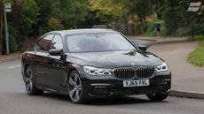 2015 BMW 730d M Sport cornering