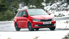 Skoda Fabia Estate (2015 - ) front cornering