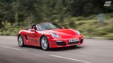 Porsche Boxster ride