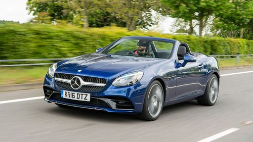 New Used Mercedes Benz Slc Cars For Sale Auto Trader