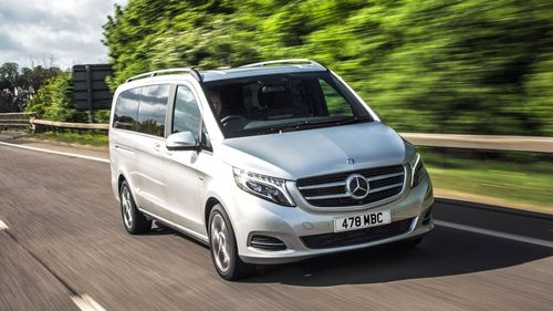 magazine unveil lewis new to reed minivan mobility at mercedes v ot class benz the roadshow