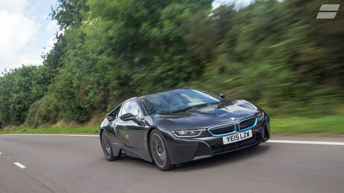 BMW I8 Coupe 2014