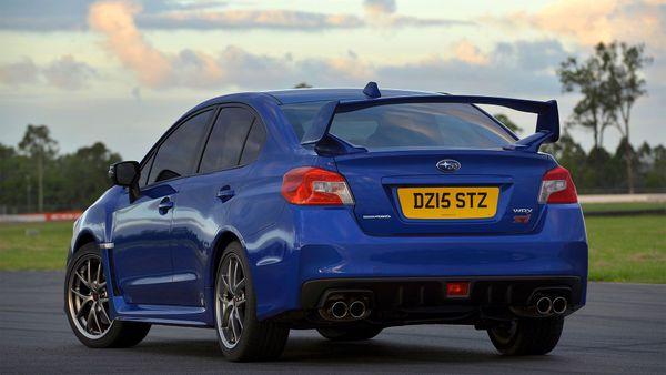 Subaru WRX STi  rear static