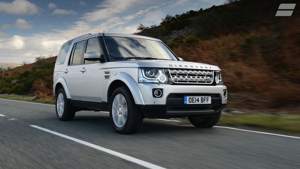 Land Rover Discovery ride