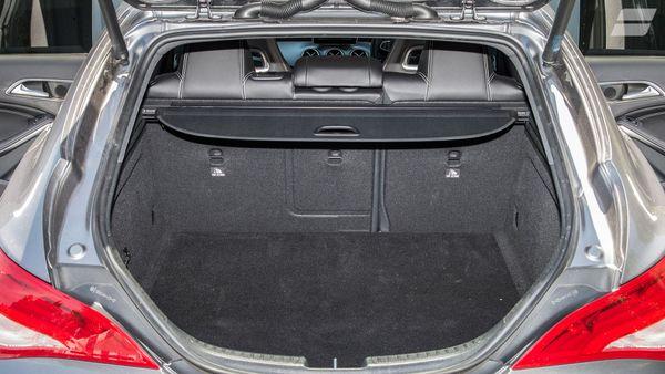 Mercedes CLA Shooting Brake versatility