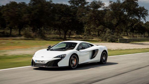 2014 McLaren 650 Coupe performance