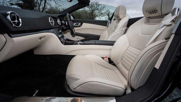 Mercedes SL practicality