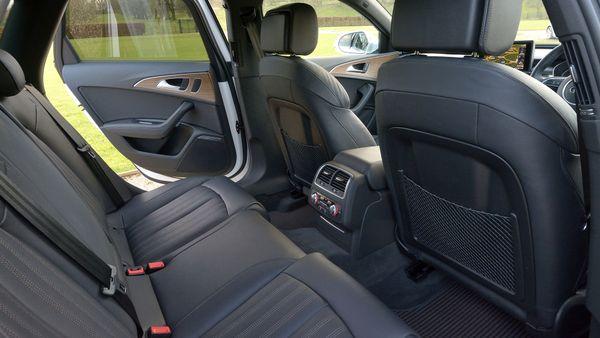 Audi A6 allroad practicality