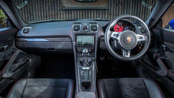 Porsche Cayman interior