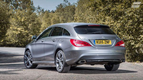 Mercedes CLA Shooting Brake design