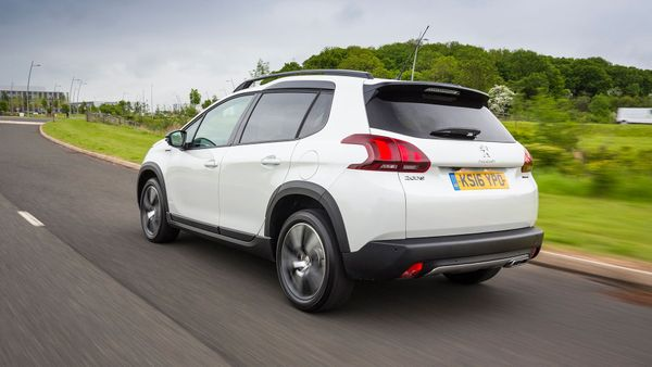 2016 Peugeot 2008 exterior