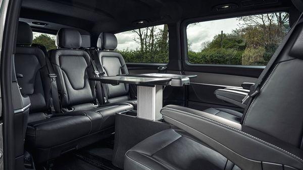 2015 Mercedes-Benz V-Class rear table