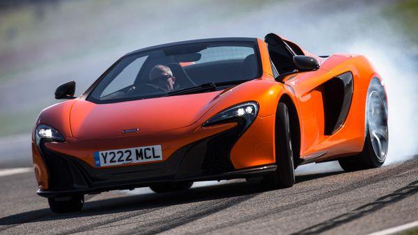 McLaren 650S handing