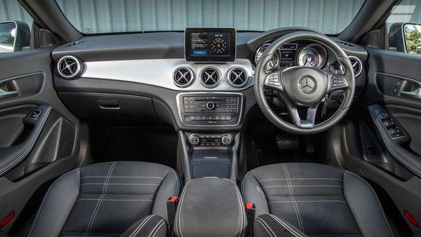 Mercedes CLA Shooting Brake equipment